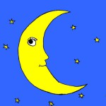luna colorata