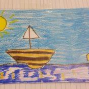 Una cartolina dalle vacanze